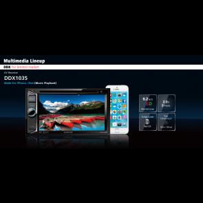 Equipo multimedia marca KENWOOD modelo DDX-1035