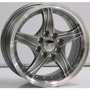 """Juego de aros marca VARELOX WHEELS  modelo V0047  mf/ml-gm - 14""""x6.0"""" - 8H - AUTO"""