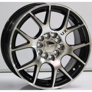 "Juego de aros marca VARELOX WHEELS  modelo V0055  mf/ml-black - 15""x6.5"" - 10H - PCR/SUV"