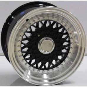 """Juego de aros marca VARELOX WHEELS  modelo V0061  mf/ml-b - 15"""" - 8H - AUTOS"""