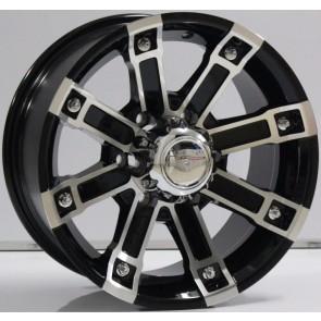 """Juego de aros marca VARELOX WHEELS  modelo V0074  mf/ml-b - 16""""x8.0"""" - 6H - Camioneta"""