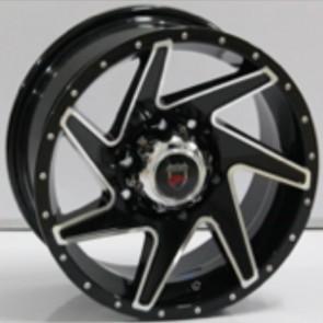 """Juego de aros marca VARELOX WHEELS  modelo V0102  b-p - 15""""x7.0"""" - 6x139.7 - Camioneta"""