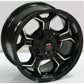 """Juego de aros marca VARELOX WHEELS  modelo V0124  b-p - 16""""x8.0"""" - 6H - Camioneta"""