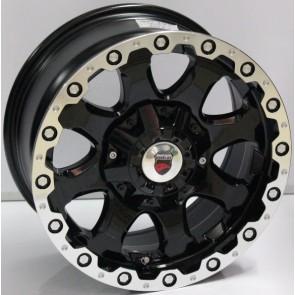 """Juego de aros marca VARELOX WHEELS  modelo V0167  b-lp-r - 16""""x8.0"""" - 6H - Camioneta"""
