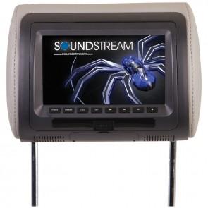 """PANTALLA (Monitor) de 7"""" para cabecera con DVD  marca SOUNDSTREAM  modelo VHD-70CC"""