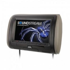 """Cabecera con Pantalla de 9"""" con lector DVD marca SOUNDSTREAM modelo VHD-90CC (Unidad)"""