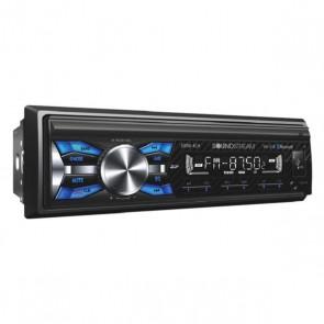 Equipo de 1DIN marca SOUNDSTREAM modelo VM-21B - AM/FM/BLUETOOTH/USB64GB/BLUETOOTH V4.0  52WX4 FRONT/REAR/SUB