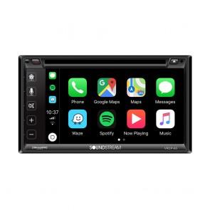 "AUTORADIO SOUNDSTREAM modelo VRCP-65, CARPLAY 6,5"" MONITOR DOBLE DIN, BLUETOOTH/DVD/AM/FM/MP3/MP4/CD/USB/SDCARD"