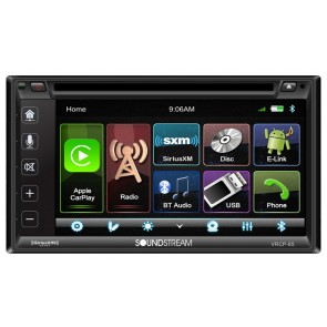 Equipo multimedia marca SOUNSTREAM modelo VRCP-65 (CarPlay ios - android)