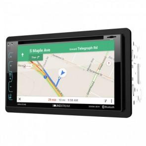 """Equipo DVD con GPS, 2DIN, Pantalla de 6.5"""" marca SOUNDSTREAM modelo VRN-65HB (Bluetooth, USB, SD, DVD, MP4, MP4, GPS)"""