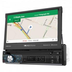 """Equipo DVD pantalla motorizada de 7"""" marca SOUNSTREAM modelo VRN-74HB"""
