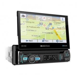 """Equipo DVD con GPS pantalla motorizada de 7"""" marca SOUNSTREAM modelo VRN-75HB"""