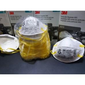 Mascarilla Respirador 3M N95 modelo 8210 (PACK X10) - AMERICANO