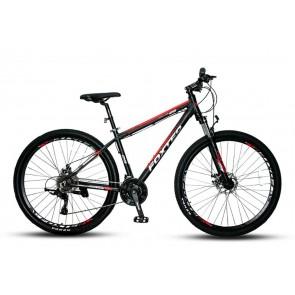 """Bicicleta FOXTER modelo FT401 aro 29"""" (Negro con Rojo)"""