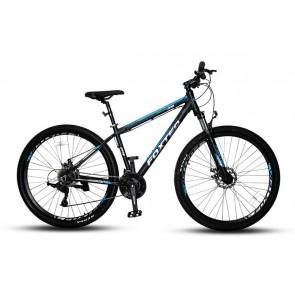 """Bicicleta FOXTER modelo FT401 aro 29"""" (Negro con Celeste)"""