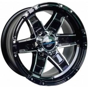 """Juego de aros marca WHEELEGEND  modelo WL-LGS24  mb - 16""""x8.0"""" - 6H - Camioneta"""