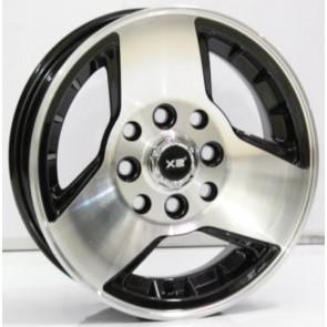 """Juego de aros marca VARELOX WHEELS  modelo X2-062B  bm - 12""""x4.5"""" - 8H - AUTO"""