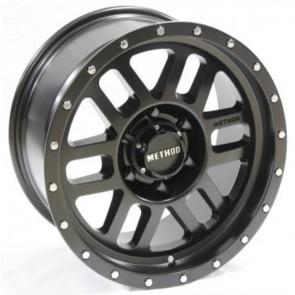 """Juego de aros RPC Wheels  modelo XH334  matt black - réplica - 17""""x9.0"""" - 6x139.7"""