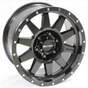 """Juego de aros RPC Wheels  modelo XH335  matt black - réplica - 17""""x9.0"""" - 6x139.7"""