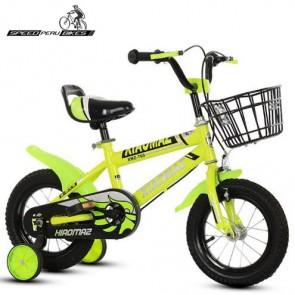 """Bicicleta para niños XIOMAZ modelo BMX aro 14"""" (Amarillo)"""