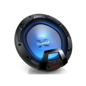 """Subwoofer de 30 cm (12"""") con iluminación marca SONY modelo XS-LEDW12"""