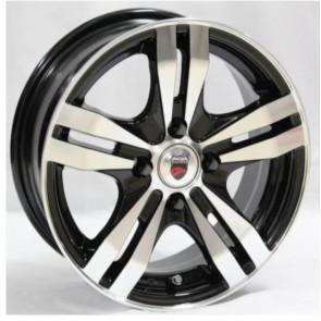 """Juego de aros marca VARELOX Wheels  modelo Y348  b-p - 14""""x6.0"""" - 4x100 (8h)"""