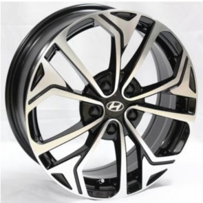 """Juego de aros RPC Wheels  modelo Y7488  b-p - Réplica - 17""""x7.0"""" - 5x114.3"""