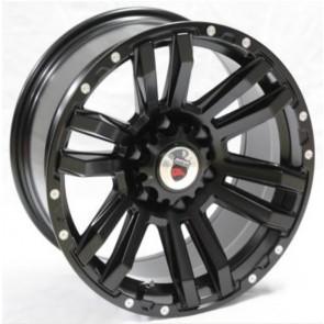 """Juego de aros marca VARELOX Wheels  modelo Y8510  blk-r/m5 - 17""""x9.0"""" - 6x139.7 - Camioneta"""