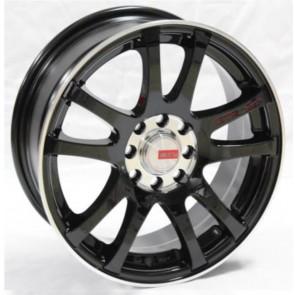 """Juego de aros marca VARELOX Wheels  modelo Y9806  b6-(r)z - 15""""x6.5"""" - 4x100 (8h)"""