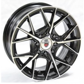 "Juego de aros marca VARELOX Wheels  modelo YD2840  b-p - 14""x6.0"" - 4x100 (8h)"