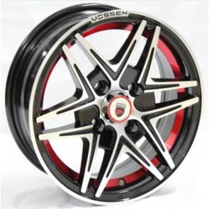 "Juego de aros marca VARELOX Wheels  modelo Z360B  b1  r+b4 - 14""x6.0"" - 4x100 (8h)"
