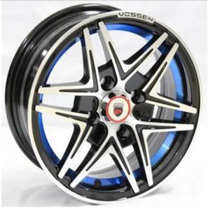 """Juego de aros marca VARELOX Wheels  modelo Z360B  b1  su+b4 - 14""""x6.0"""" - 4x100 (8h)"""