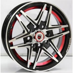 Juego de aros marca VARELOX Wheels  modelo Z360B  b1 <2> r+b4 - 14