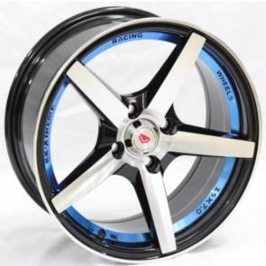 """Juego de aros marca VARELOX Wheels  modelo Z366  b1/su+b4 - 17""""x8.0"""" - 4x100 (8h)"""