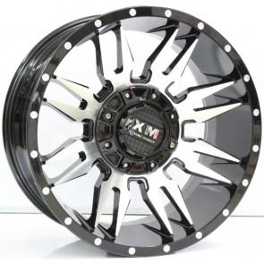 """Juego de aros RPC Wheels, modelo Z396  b3-q - 18""""x9.0"""" - 10h (5x114.3) - Réplica XM"""