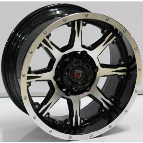 """Juego de aros marca VARELOX WHEELS  modelo ZF-10198  bp - 16""""x8.0"""" - 6H - Camioneta"""