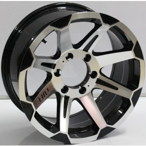 """Juego de aros marca VARELOX WHEELS  modelo ZF-10309  b-p - 17""""x8.0"""" - 6H - Camionetas"""