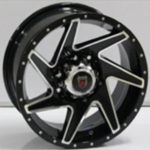 """Juego de aros marca VARELOX WHEELS  modelo ZF-1073  bp - 15""""x7.0"""" - 6H - Camioneta"""