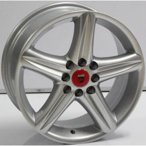 """Juego de aros VARELOX WHEELS  modelo ZF-198  sil - 14""""x6.0"""" - 8H - AUTOS"""