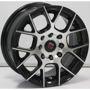 """Juego de aros marca VARELOX WHEELS  modelo ZF-495 bp - 14"""" - 8H - AUTOS"""
