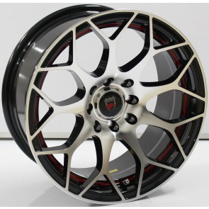 "Juego de aros marca VARELOX WHEELS  modelo ZF-511 b4r - 13""x6.0"" - 8H - AUTO"