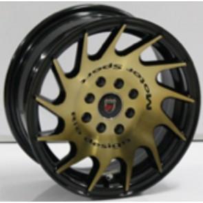 "Juego de aros marca VARELOX WHEELS  modelo ZF-540 bbt4 - 14""x6.0"" - 8H - AUTO"