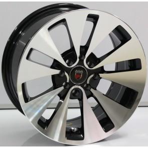 """Juego de aros marca VARELOX WHEELS  modelo ZF-596  bp - 16""""x7.0"""" - 8H - AUTO"""