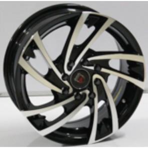 """Juego de aros marca VARELOX WHEELS  modelo ZF-6302 bp - 14""""  8H - AUTOS"""